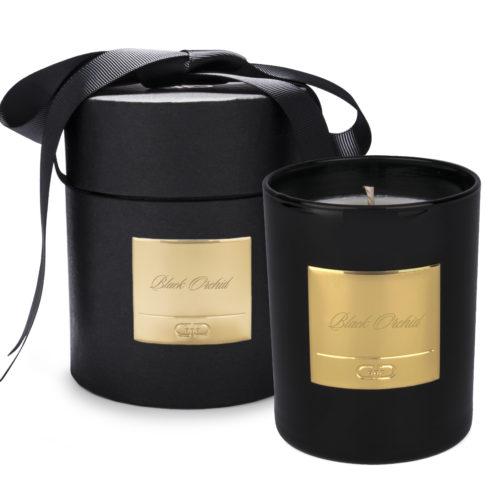 Duftlys med Black Orchid duft