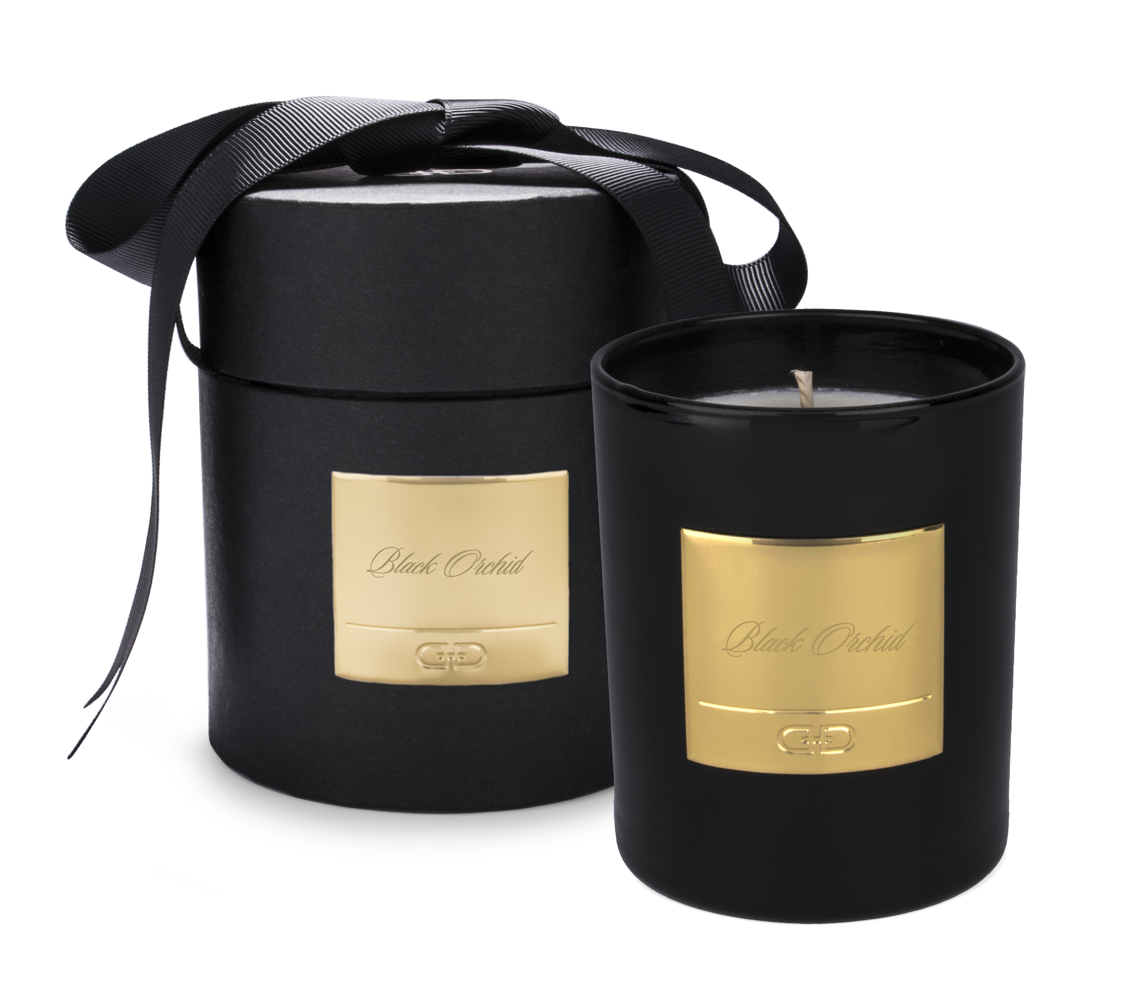 Black Orchid – Black & Gold luxury candle