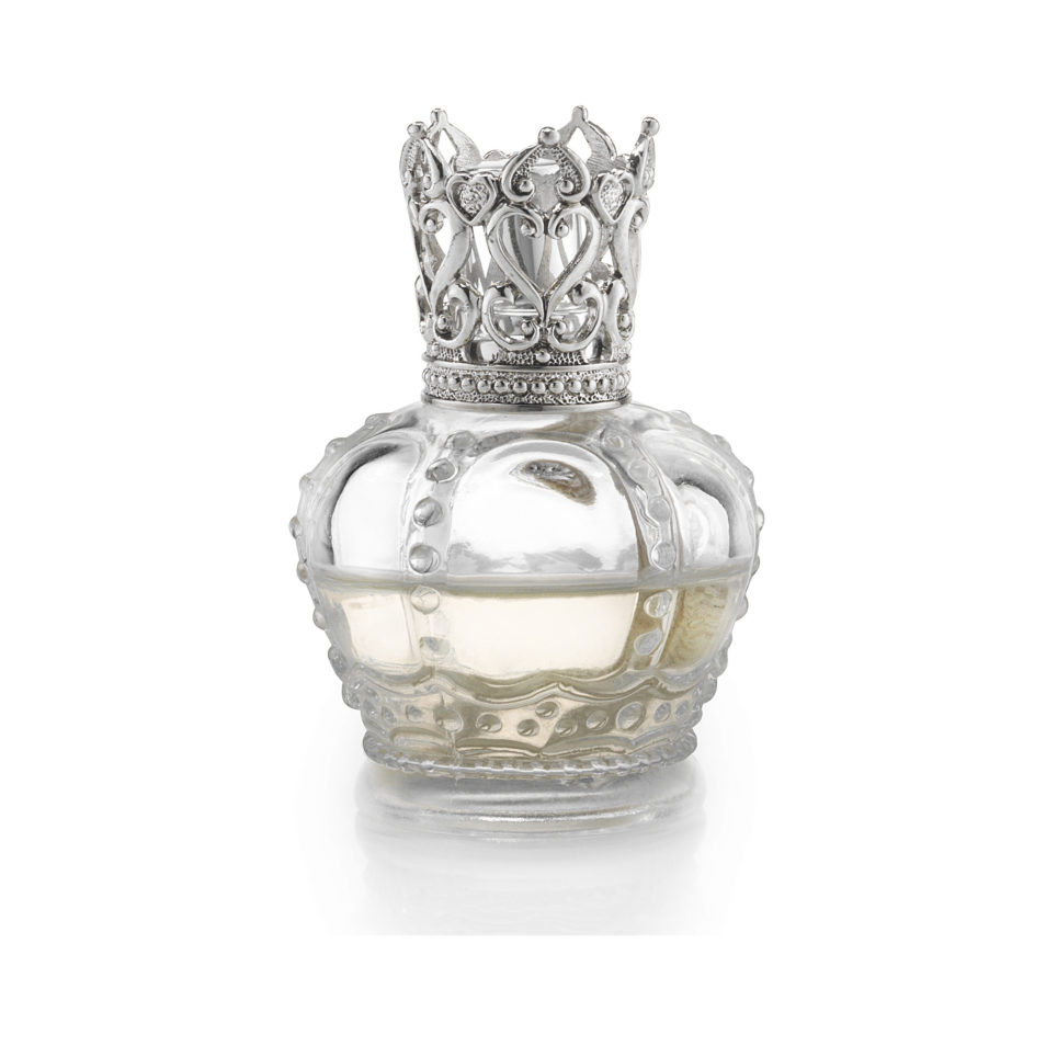 Duftlampe Crown Clear Silver fra Dofta