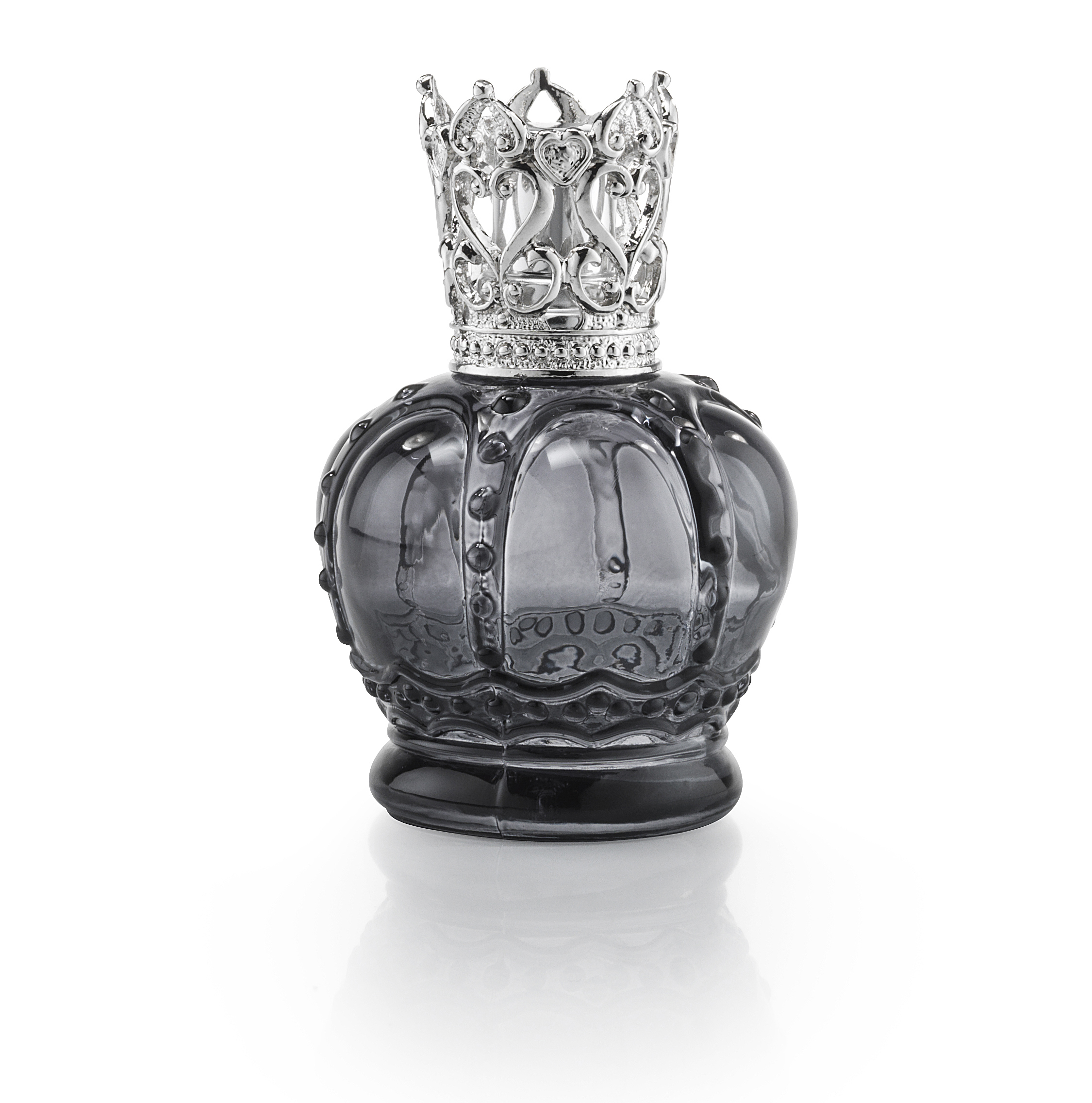 Crown Transparent Black - Luftrensende Duftlampe