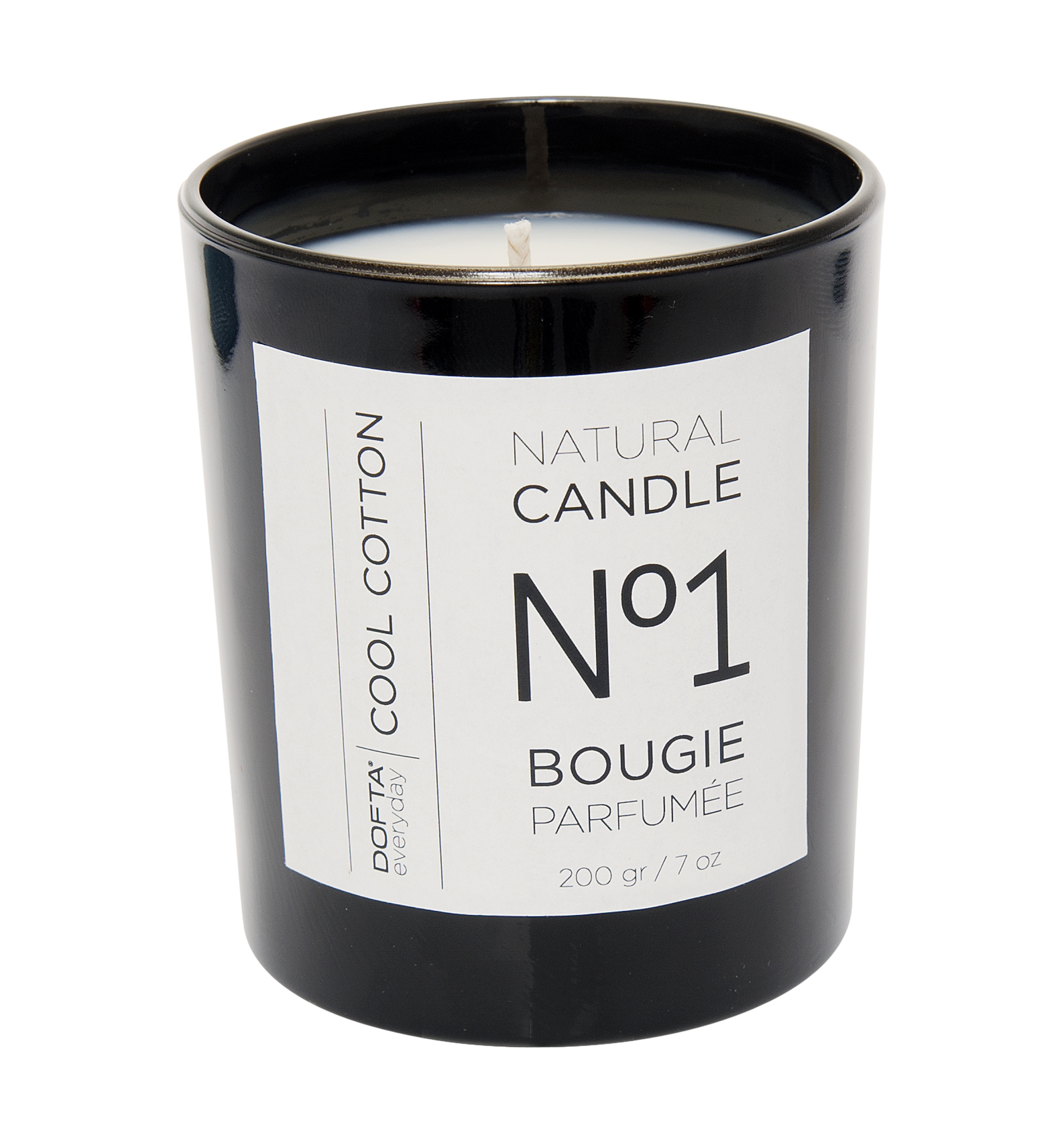 Cool Cotton - Natural wax candle