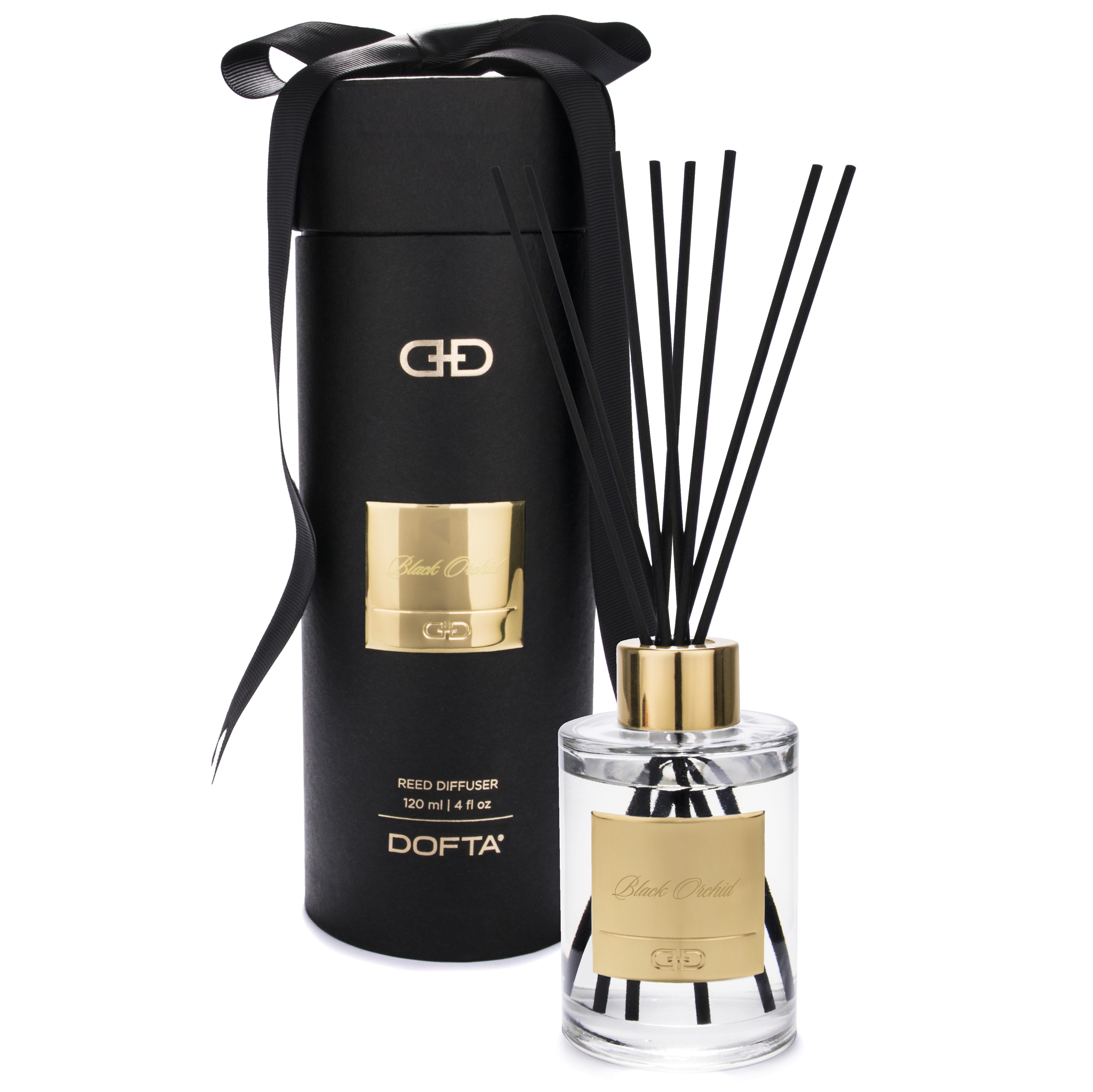 Black Orchid - Black & Gold Duftpinde