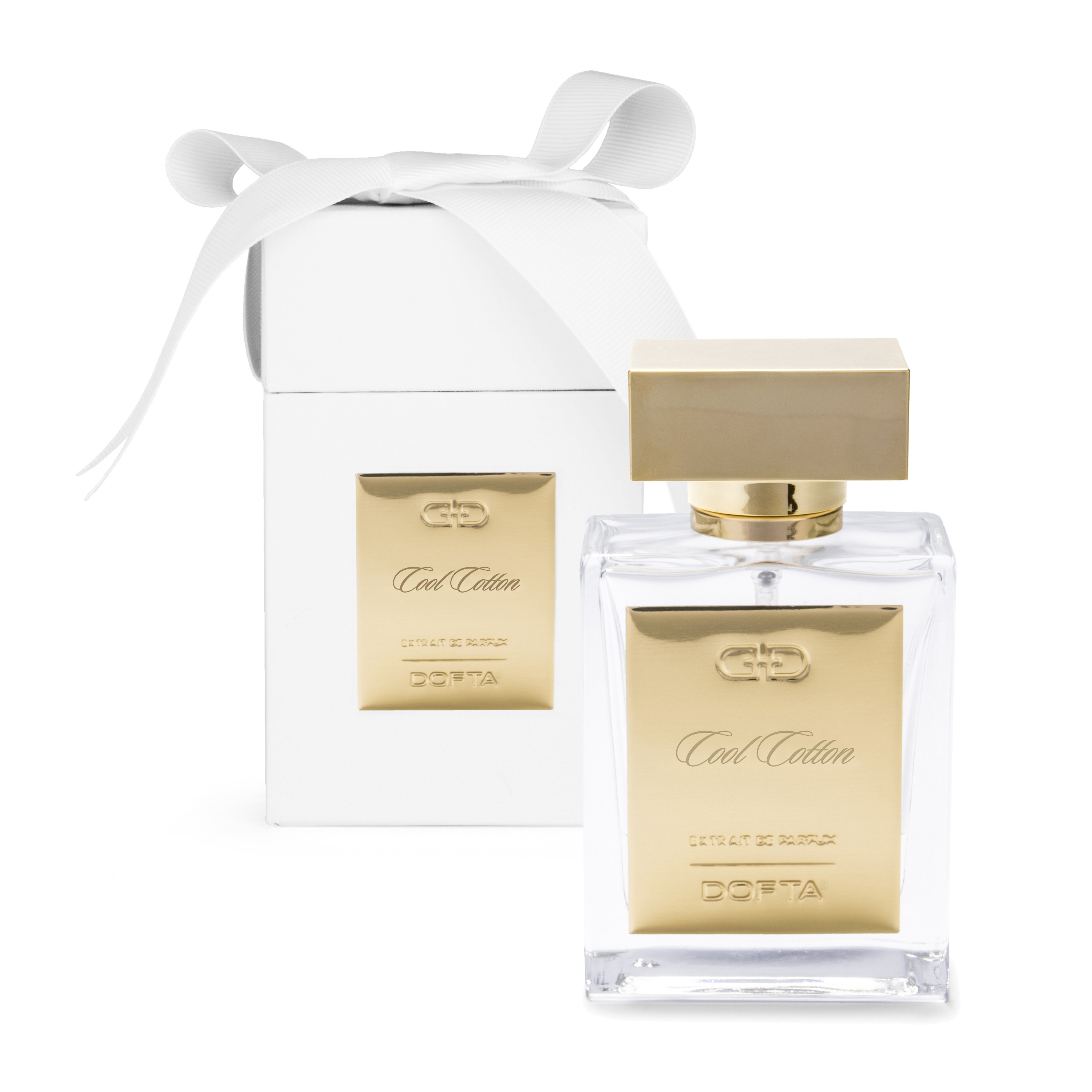Cool Cotton - White & Gold Extrait de Parfum