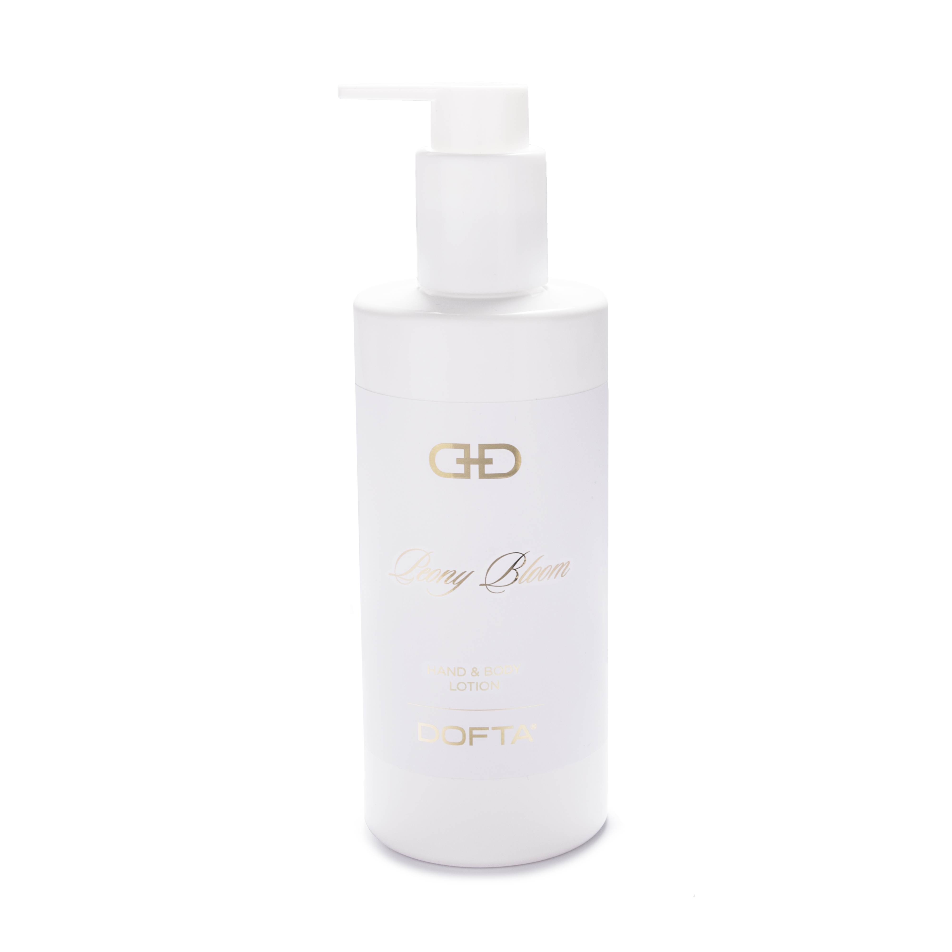 Peony Bloom - White & Gold Hand & Body Lotion
