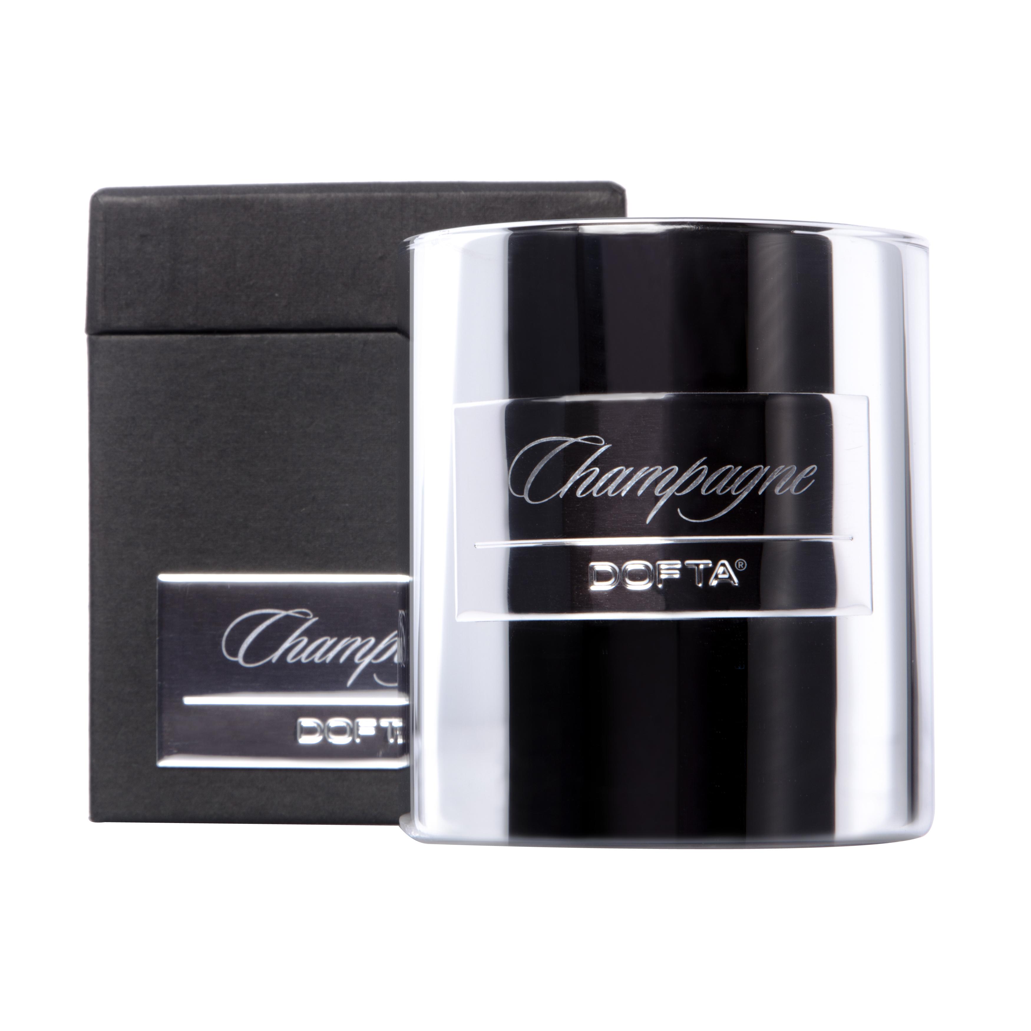Champagne - Natural Luxury duftlys af naturlig voks
