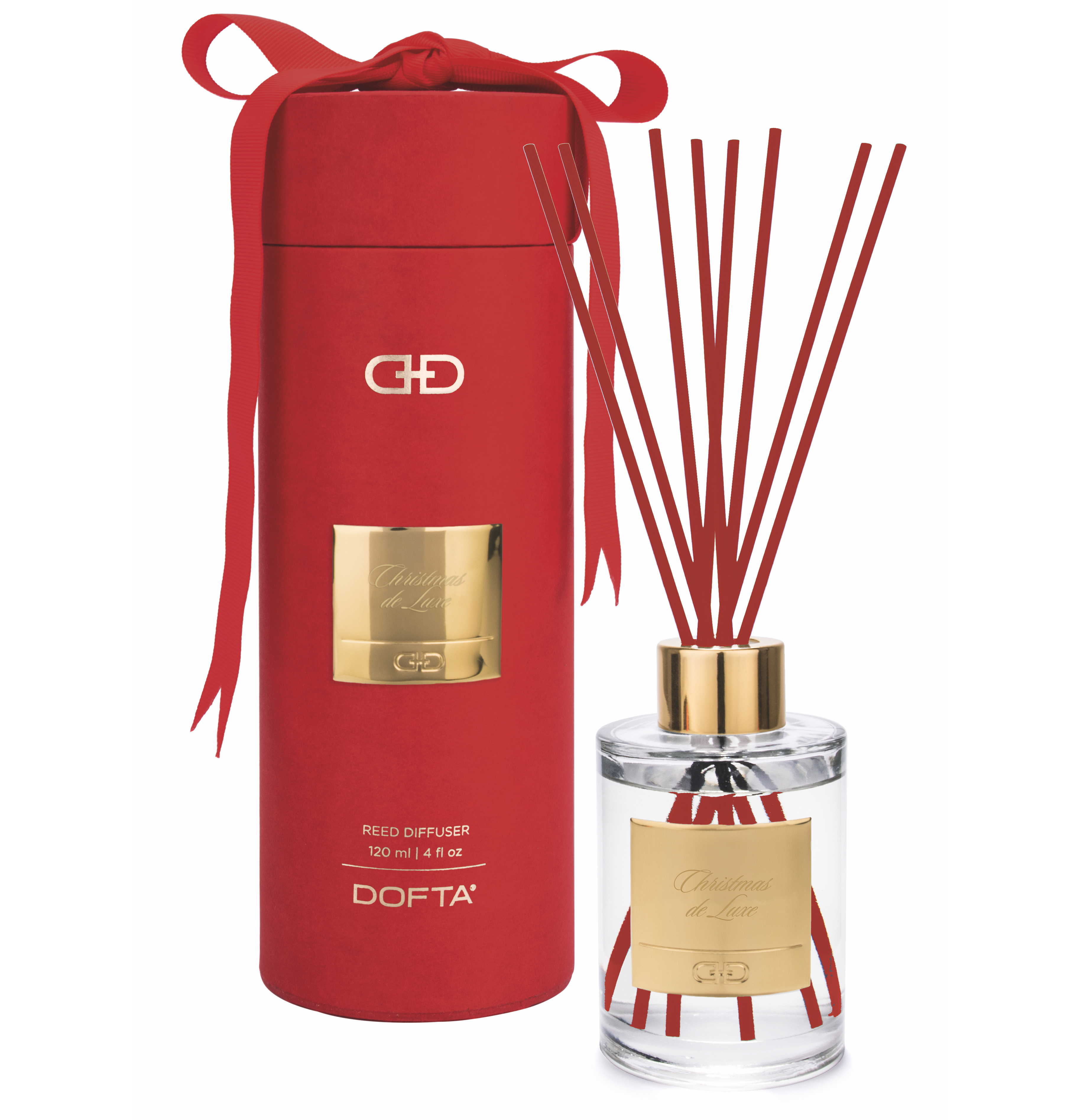 Christmas de Luxe - Red & Gold Duftpinde